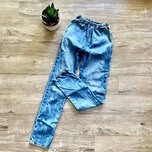 Gap Jean Jogger Pant / Summer Washed Blue
